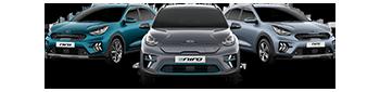 Kia Sportage, Picanto GT Line S and Niro