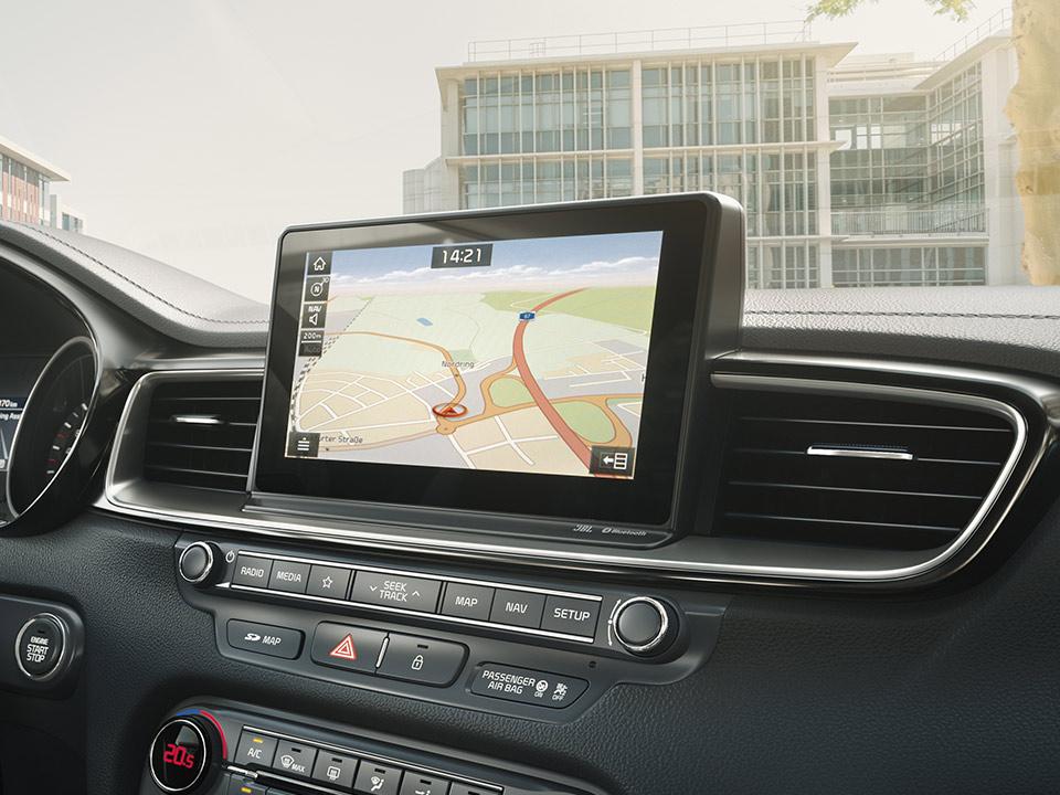 """Navigație 8.0"""" + Sistem infotainment cu Apple Car Play și Android Auto"""