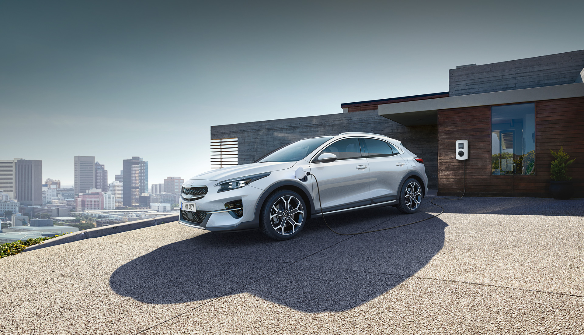 Noul Kia XCEED Plug-in Hybrid